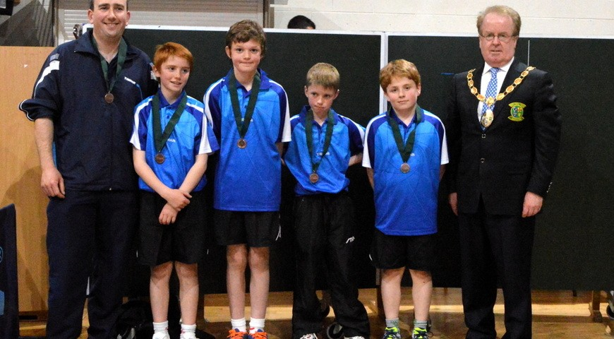 All ireland table tennis 2015 summercove national school - Table tennis table ireland ...