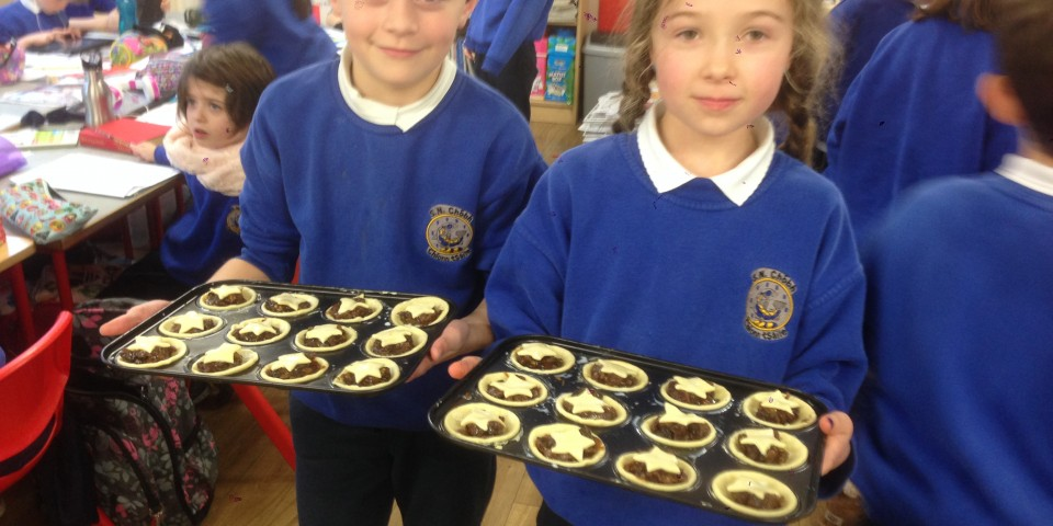 Baking Mince Pies – 2nd Class