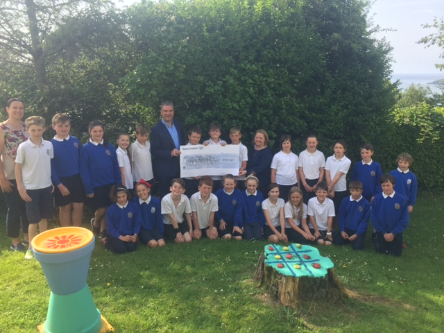 Rang a 4 – Cake Sale and Donation to Running Track