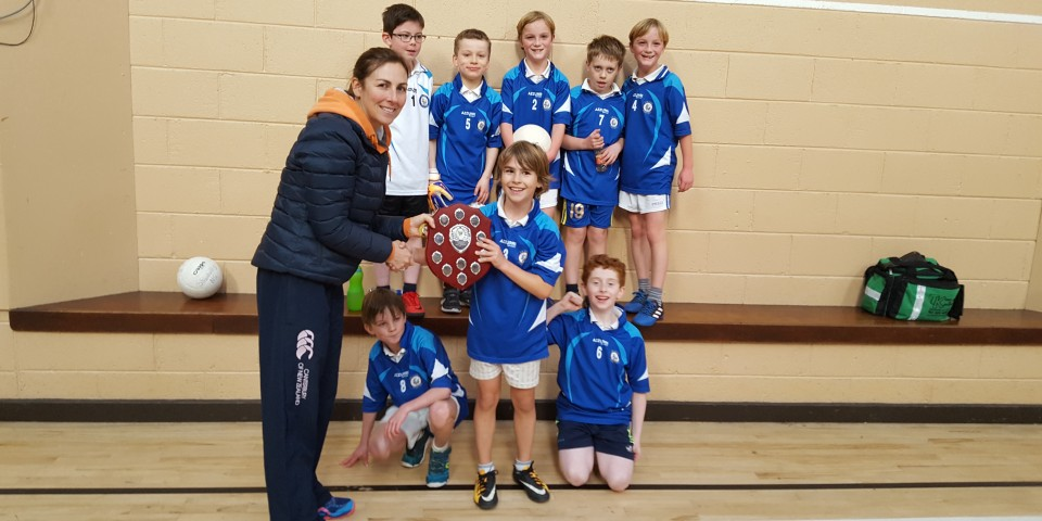 Winners of Carrigdhoun Indoor Football Blitz