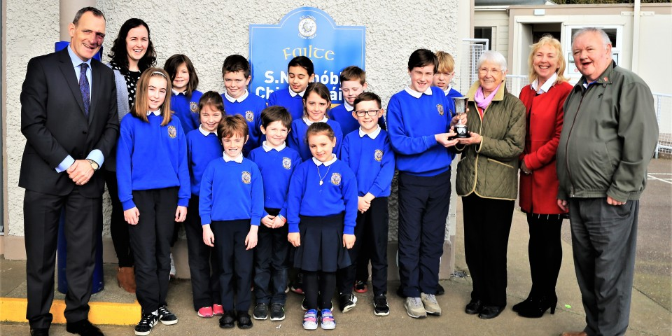 Overall Winners of Kinsale Tidy Towns School