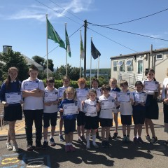 100% Attendance for School Year 2017/18