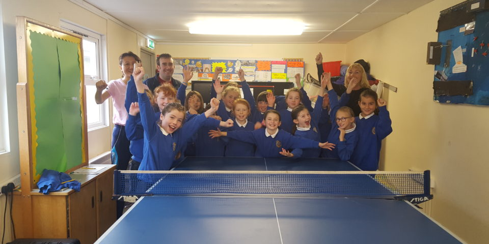 Visit of Ladies Table Tennis Champion