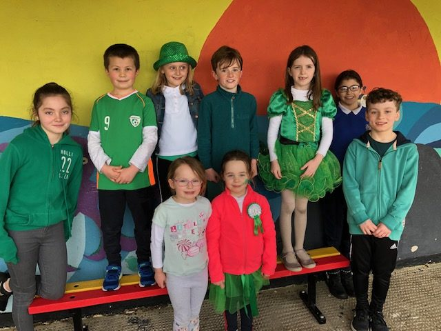 St. Patrick's Day Schools Art Competition Winners