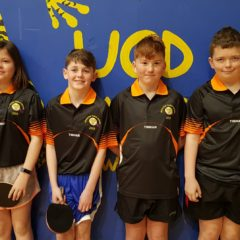 SN Chóbh representing Munster at the Table Tennis Interprovincials.