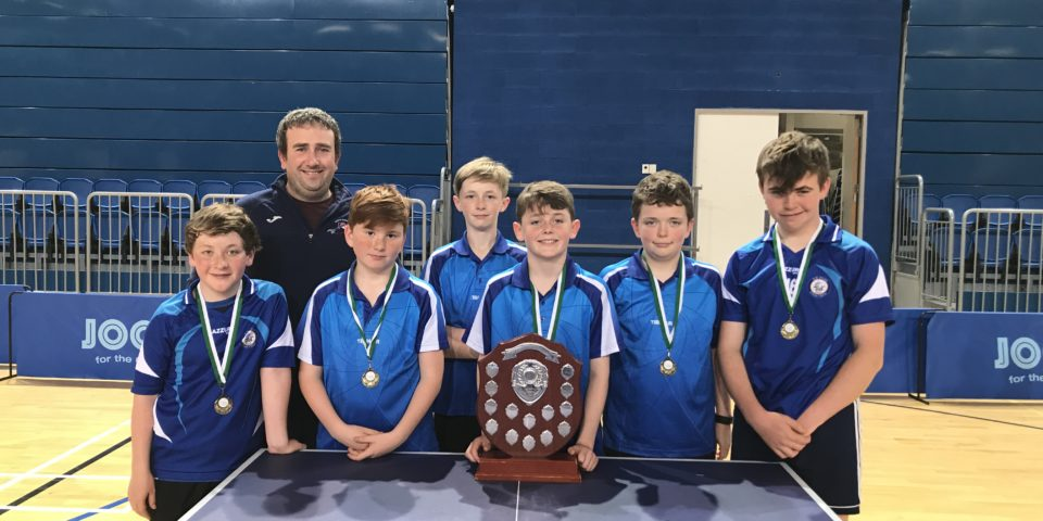 All Ireland Primary Schools Table Tennis Champions 2019