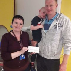 Donation to Crumlin Children's Hospital from 4th Class
