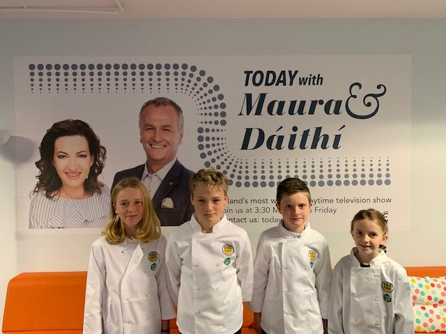 Kids Kitchen Takeover with Maura and Dáithí.